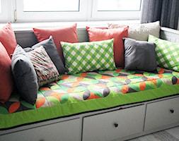 Narzuta i poduszki - GEOMETRIA - zdjęcie od Wzory i Kolory