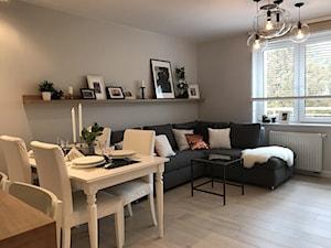 Metamorfoza mieszkania 47 m2 - Bamberski Dwór
