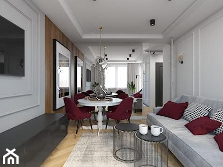 Aranżacje wnętrz - Salon: Metamorfoza mieszkania 44 m2 w bloku z wielkiej płyty - Salon, styl nowoczesny - Architektownia. Przeglądaj, dodawaj i zapisuj najlepsze zdjęcia, pomysły i inspiracje designerskie. W bazie mamy już prawie milion fotografii!