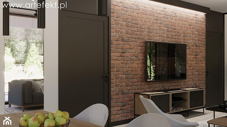 Mieszkanie - Salon, styl industrialny - zdjęcie od ArtEfekt