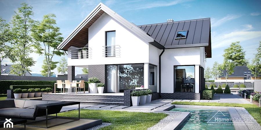 projekt domu nowoczesnego homekoncept 9 zdj cie od. Black Bedroom Furniture Sets. Home Design Ideas