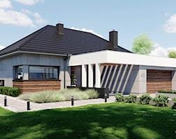 Projekt+domu+HomeKoncept+43+-+zdj%C4%99cie+od+HomeKONCEPT+Projekty+Dom%C3%B3w+Nowoczesnych