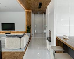 Projekt domu HomeKoncept 33 - Hol / przedpokój, styl nowoczesny - zdjęcie od HomeKONCEPT Projekty Domów Nowoczesnych