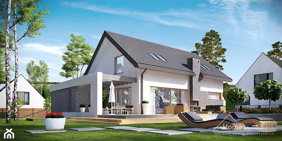 projekt domu jednorodzinnego homekoncept 05 zdj cie od. Black Bedroom Furniture Sets. Home Design Ideas