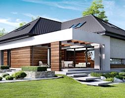 Projekt+domu+HomeKoncept+33+-+zdj%C4%99cie+od+HomeKONCEPT+Projekty+Dom%C3%B3w+Nowoczesnych