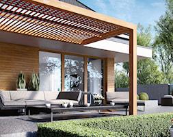 Projekt+domu+HomeKoncept+23+-+zdj%C4%99cie+od+HomeKONCEPT+Projekty+Dom%C3%B3w+Nowoczesnych