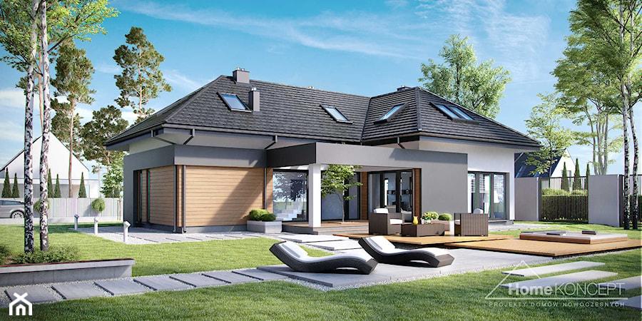 projekt domu homekoncept 15 zdj cie od homekoncept projekty dom w nowoczesnych homebook. Black Bedroom Furniture Sets. Home Design Ideas