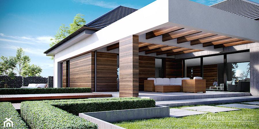 projekt domu homekoncept 26 zdj cie od homekoncept projekty dom w nowoczesnych. Black Bedroom Furniture Sets. Home Design Ideas