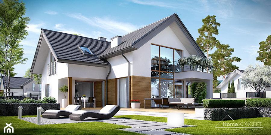 Projekt domu homekoncept 8 zdj cie od homekoncept for Haus bauen 150qm