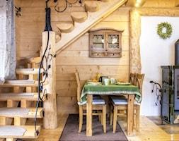 Drewniany domek z bali - zdjęcie od Natalia Obrochta