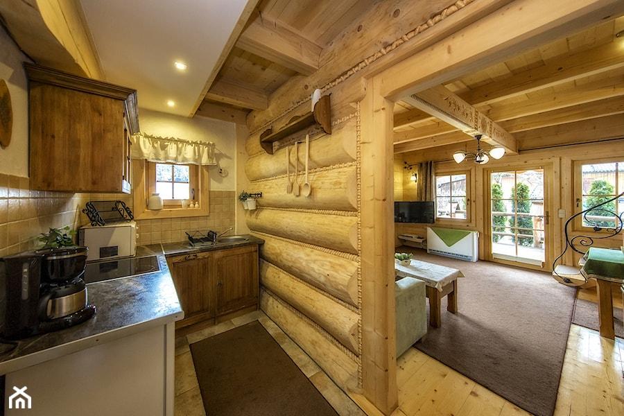 Genialny Domek Otulina drewniany dom z bali - zdjęcie od Natalia Obrochta FI45