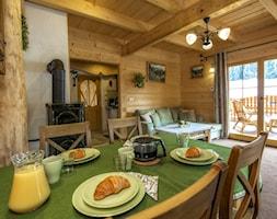 Drewniany dom, Jadalnia w góralskim klimacie - zdjęcie od Natalia Obrochta