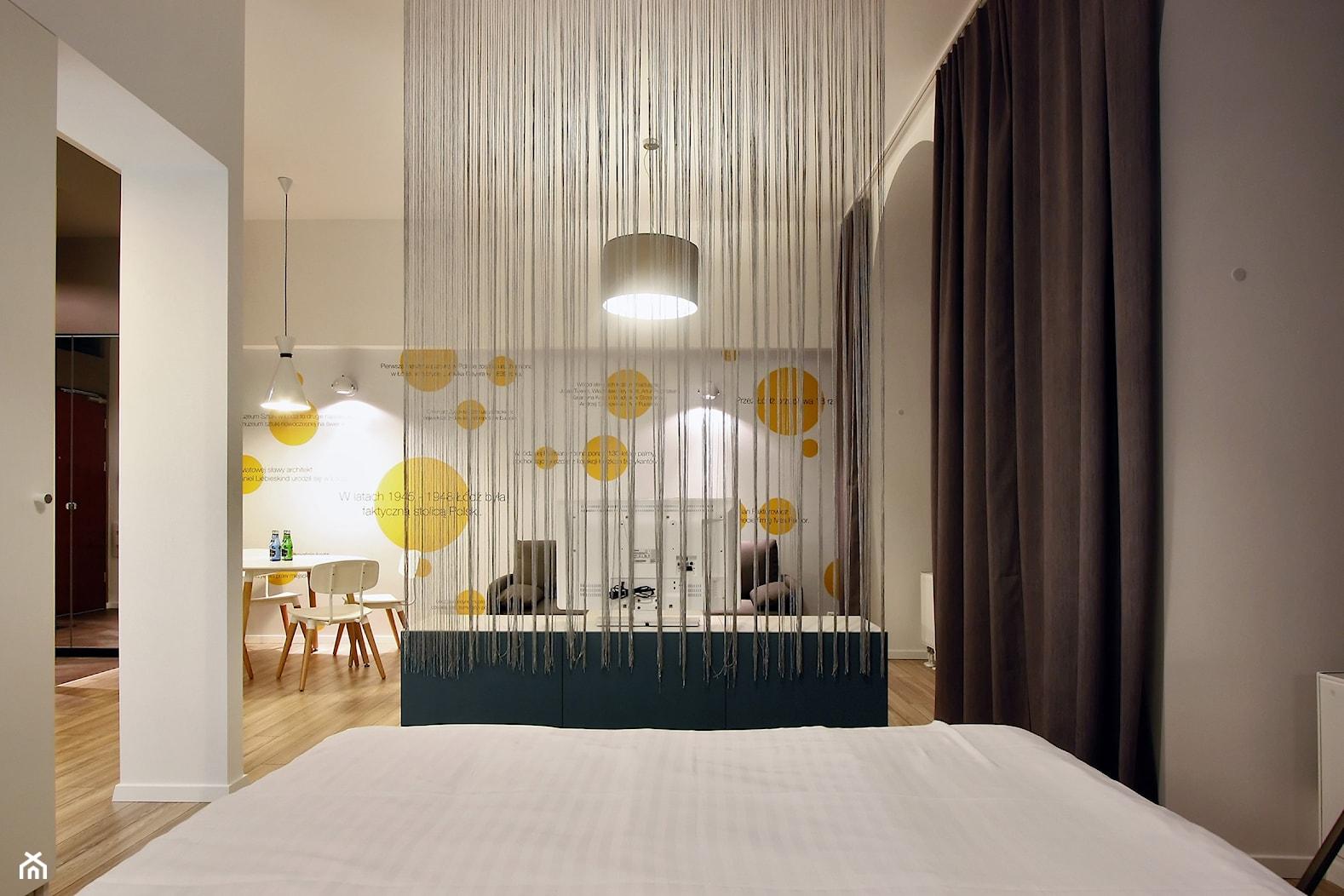 DVUPAK - loft VIVID - Sypialnia, styl nowoczesny - zdjęcie od Borowczyk Architekci - Homebook