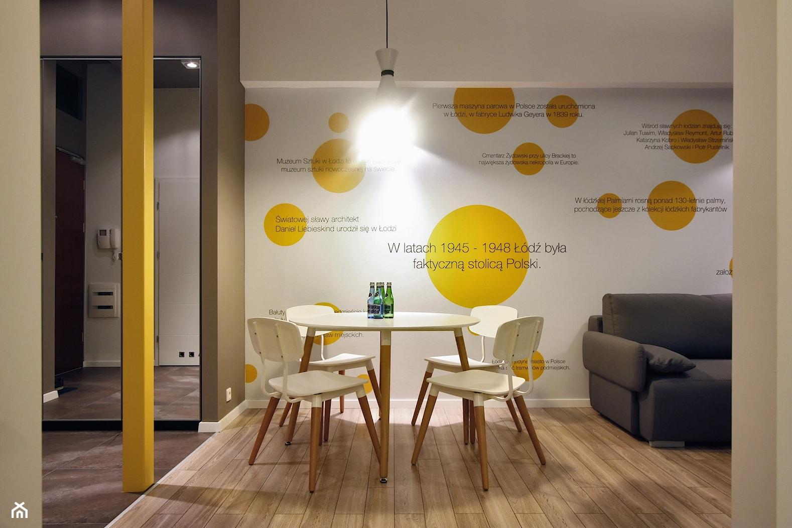 DVUPAK - loft VIVID - Jadalnia, styl nowoczesny - zdjęcie od Borowczyk Architekci - Homebook