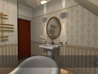 łazienki dla klientów salonu w Krakowie