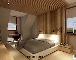Sypialnia z łazienką - zdjęcie od Ciochoń-Studio - Homebook