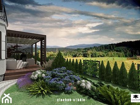Projekt ogrodu w Mogilanach - zdjęcie od Ciochoń-Studio