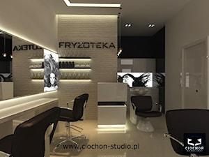 Projekt koncepcyjny salonu Fryzjerskiego - I