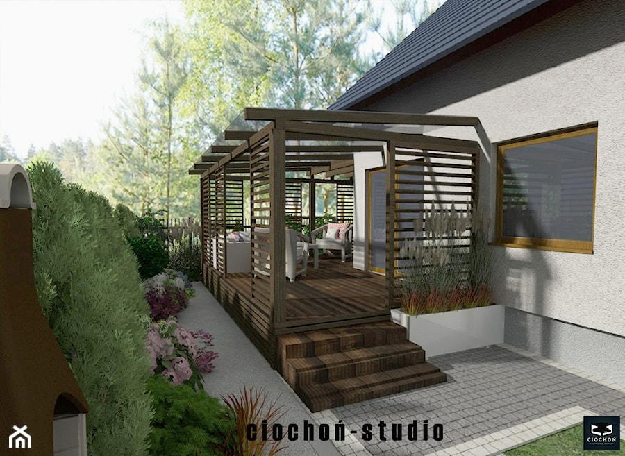 Projekt ogrodu w Niepołomicach - zdjęcie od Ciochoń-Studio