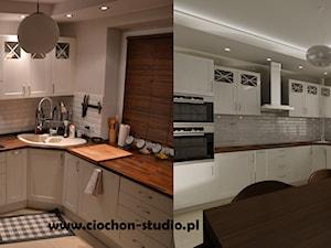 Kuchnia i łazienka - projekt i realizacja