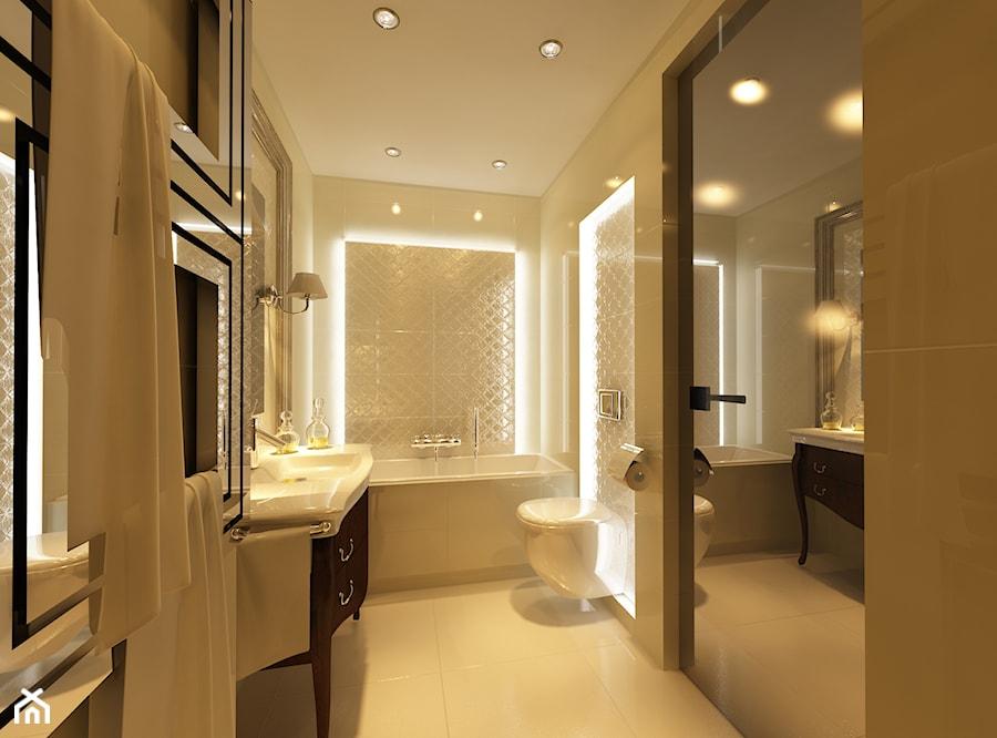 Apartament krak w ii zdj cie od ciocho studio homebook for Bathroom design 3x2