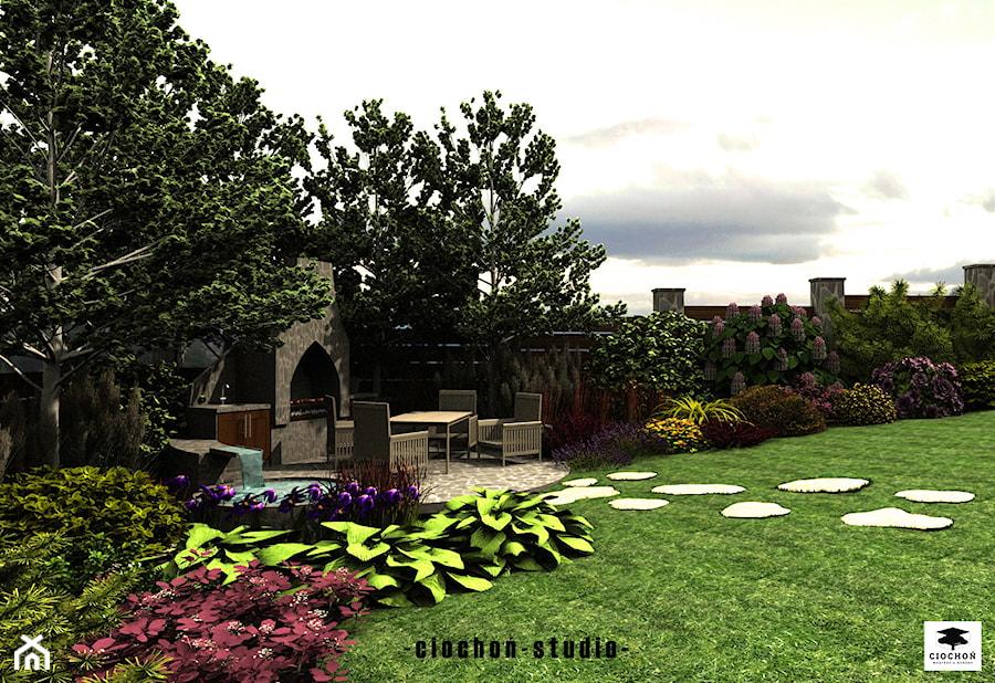 Projekt ogrodu w Cianowicach - zdjęcie od Ciochoń-Studio