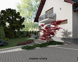 Projekt+ogrodu+w+Niepo%C5%82omicach+-+zdj%C4%99cie+od+Ciocho%C5%84-Studio