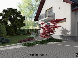 Projekt ogrodu w Niepołomicach