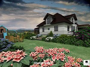 Projekt ogrodu w Mogilanach