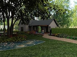 Projekt ogrodu  w Tyńcu