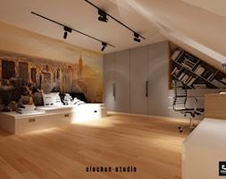 Pokój dla nastolatka - zdjęcie od Ciochoń-Studio