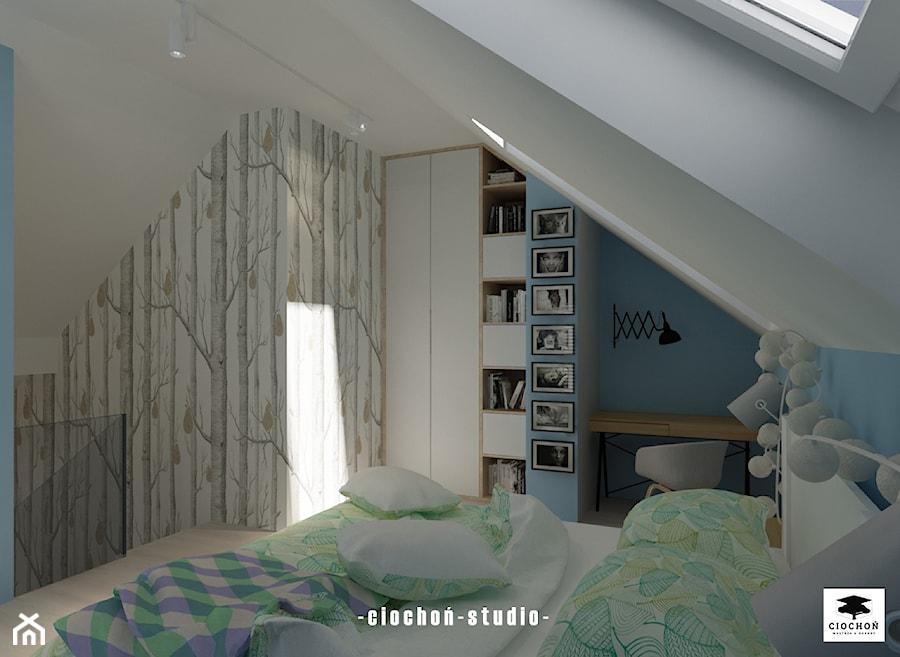 Aranżacje wnętrz - Sypialnia: Mieszkanie w Rzeszowie - Ciochoń-Studio. Przeglądaj, dodawaj i zapisuj najlepsze zdjęcia, pomysły i inspiracje designerskie. W bazie mamy już prawie milion fotografii!