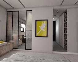widok na garderobę i łazienkę - zdjęcie od Pracownia Kaffka