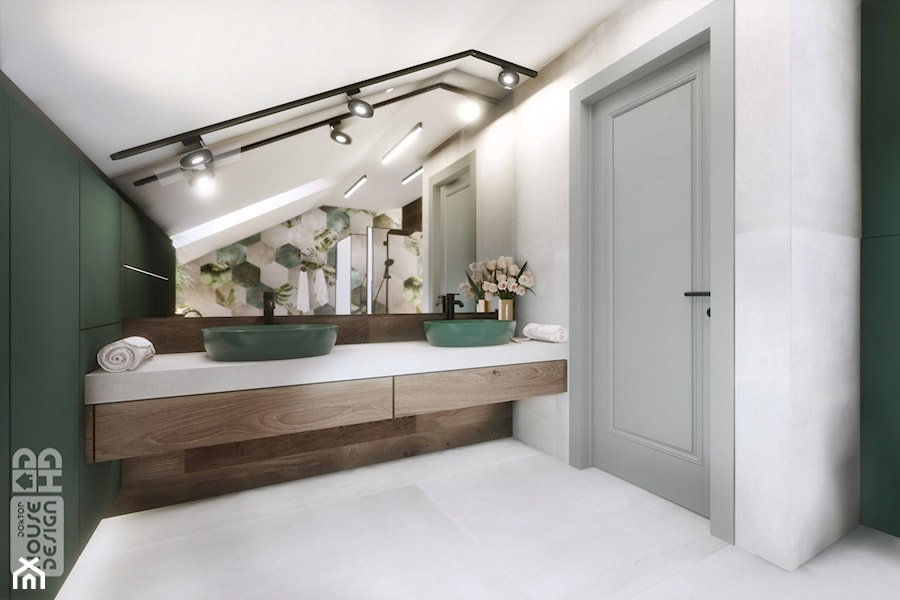 DOM W BABICACH - Łazienka, styl nowoczesny - zdjęcie od DOKTOR HOUSE DESIGN