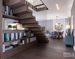 schody+z+biblioteczk%C4%85+-+zdj%C4%99cie+od+DOKTOR+HOUSE+DESIGN