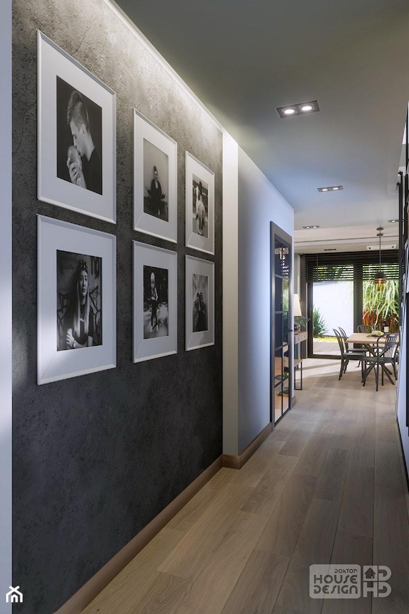 DOM W BABICACH - Hol / przedpokój, styl industrialny - zdjęcie od DOKTOR HOUSE DESIGN