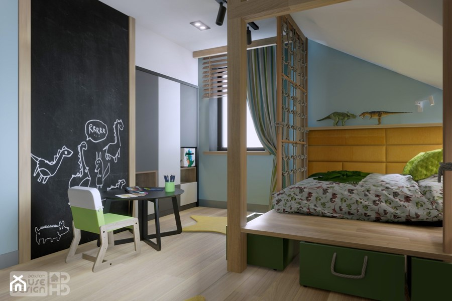 DOM W BABICACH - Pokój dziecka, styl nowoczesny - zdjęcie od DOKTOR HOUSE DESIGN