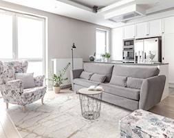 Kuchnia z salonem i jadalnią - zdjęcie od Doriz Pragmatic Design