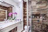 nastrojowa łazienka w stylu prowansalskim