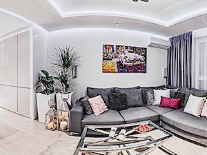 salon z kuchnią - zdjęcie od Doriz Pragmatic Design