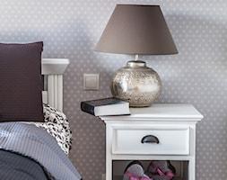 Prowansja na Bartyckiej - Średnia sypialnia małżeńska, styl prowansalski - zdjęcie od Doriz Pragmatic Design