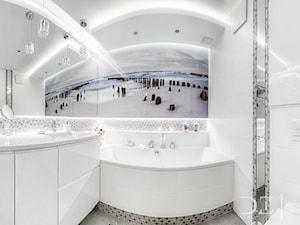 Gandhi Wawa - Łazienka w bloku w domu jednorodzinnym, styl nowoczesny - zdjęcie od Doriz Pragmatic Design