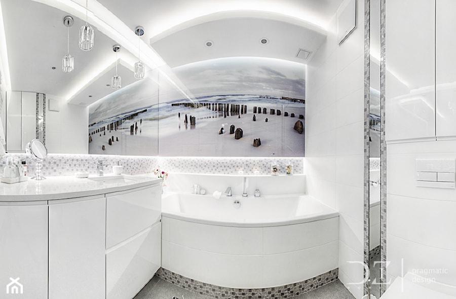 Gandhi Wawa - Łazienka w bloku w domu jednorodzinnym, styl nowoczesny - zdjęcie od Pragmatic Design