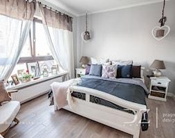 Średnia sypialnia małżeńska, styl prowansalski - zdjęcie od Doriz Pragmatic Design