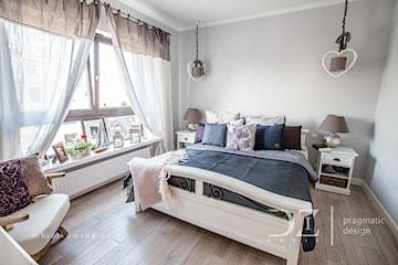 Przytulna sypialnia w odcieniach szarości - 7 pomysłów na aranżację