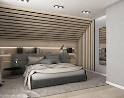 Sypialnia+na+poddaszu+-+zdj%C4%99cie+od+Pracownia+Projektowa+SKEB+S.K.Ko%C5%82tun