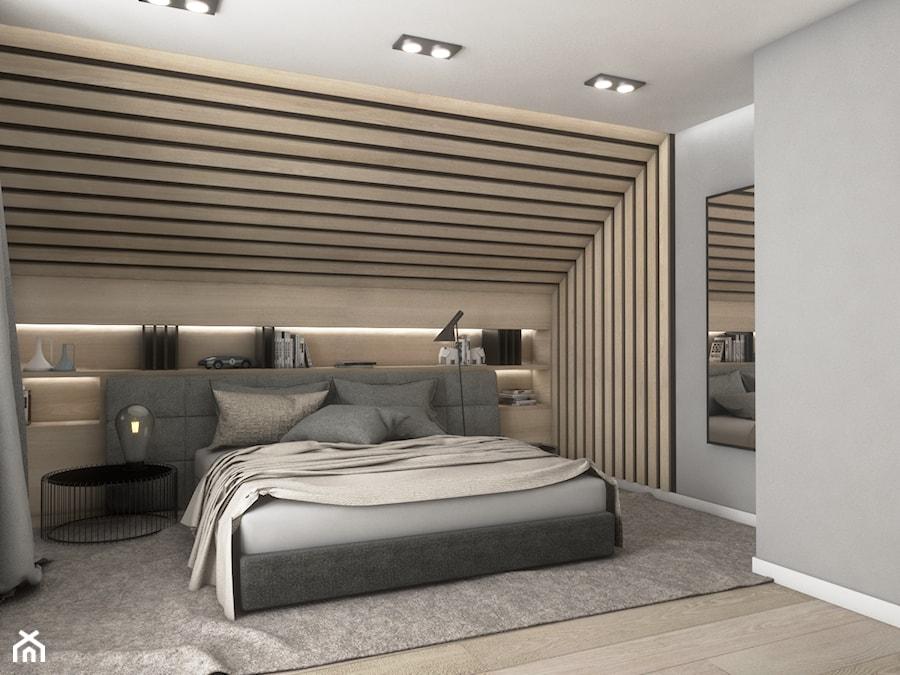 Sypialnia na poddaszu - zdjęcie od Pracownia Projektowa SKEB S.K.Kołtun