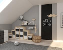Pokój chłopca na poddaszu - zdjęcie od Pracownia Projektowa SKEB S.K.Kołtun