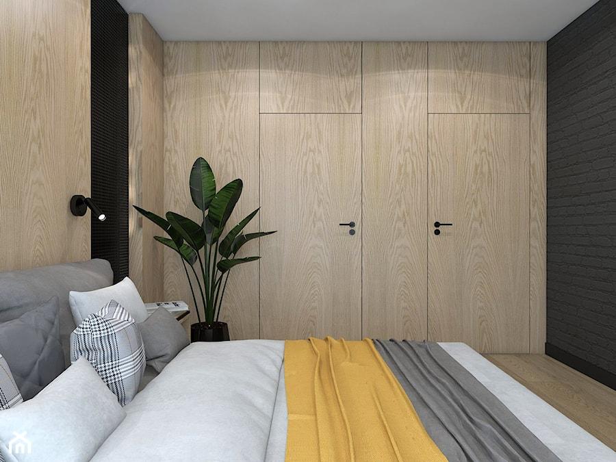 PODMIEJSKI LUZ - Sypialnia, styl skandynawski - zdjęcie od UTOO- pracownia architektury wnętrz i krajobrazu
