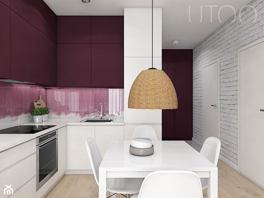 ŚLIWKOWY ZAWRÓT GŁOWY - Kuchnia, styl skandynawski - zdjęcie od UTOO- pracownia architektury wnętrz i krajobrazu